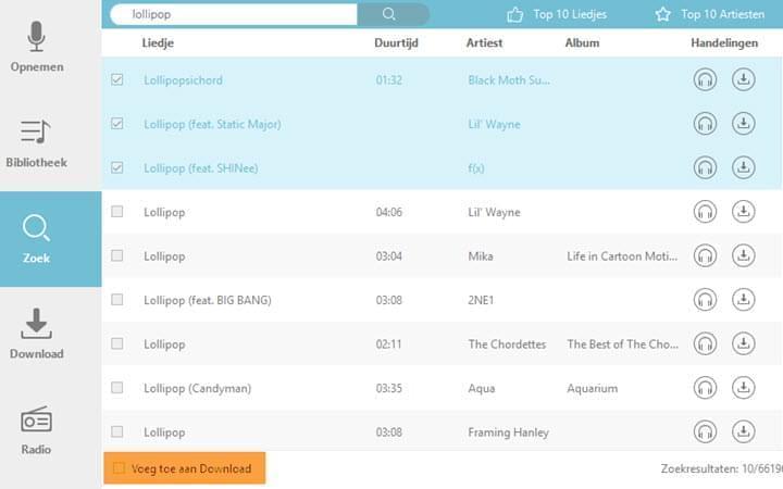 Gratis muziek downloaden [[ alles gratis ]].